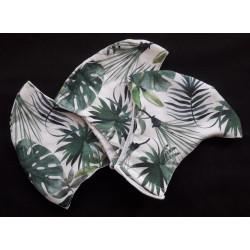 Rouška s palmovými listy